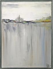 Nr. 203 Acryl auf Leinwand mit Schattenfuge (30x40)