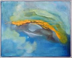Nr. 501 Acryl auf Leinwand mit Schattenfuge (50x40)